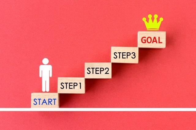 キャリアステップのイメージ