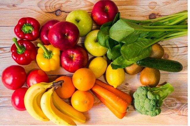 野菜と果物のイメージ